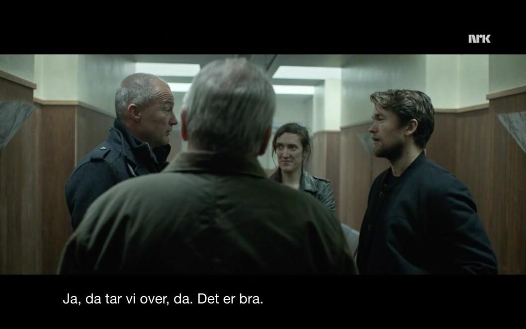 Skjermbilde fra NRK.