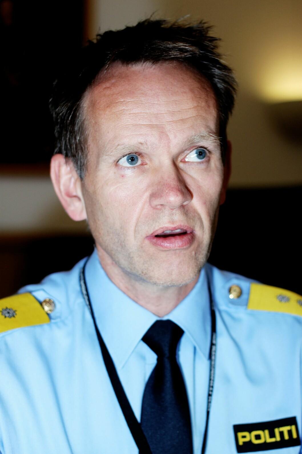 Håkon Skulstad, assisterende politidirektør.