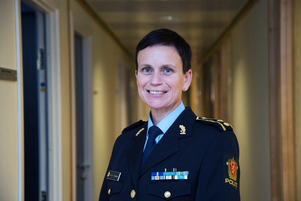 NY POLITIRÅD: Ann-Kristin Kvilekval fra Kragerø er FNs nye tilskudd. I november reiser hun av gårde til jobben som Senior Police Advisor på Kypros i november.