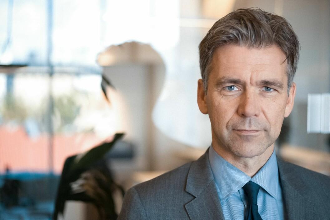 POSITIV: Morten Hojem Ervik, sjef for Politiets utlendingsenhet er positiv til innvandrings- og integreringsminister Listhaug sitt forslag.