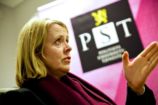 JA TIL BEVÆPNING: Benedicte Bjørnland, sjef i PST, har signert et høringssvar til Bevæpningsutvalgets utredning.