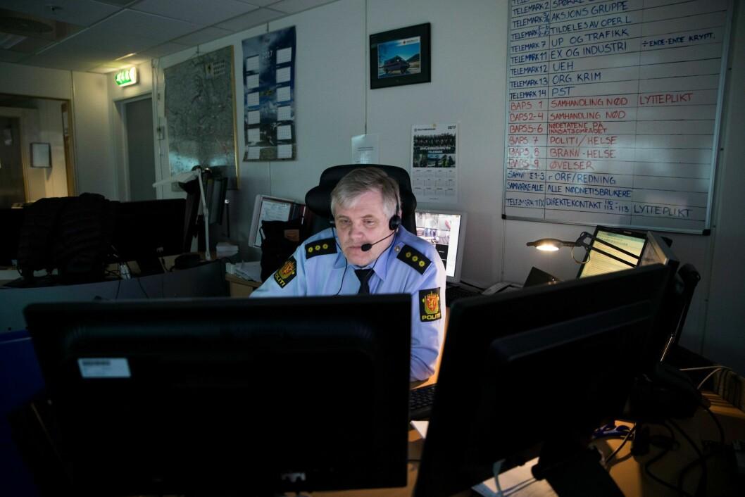 Politiets operatører registrerer flere oppdrag enn tidligere.