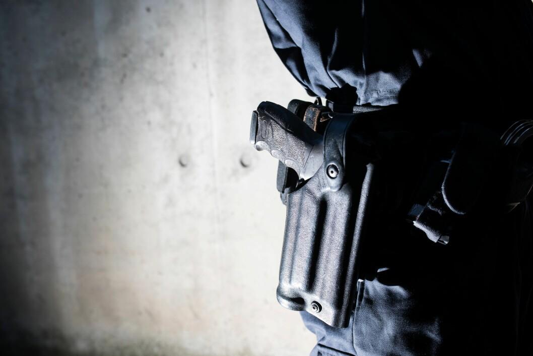 Oslo politidistrikt har bedt om bevæpning.