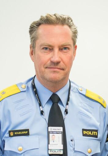 Jørn Schjelderup, sjef for beredskaps-seksjonen i Politidirektoratet.