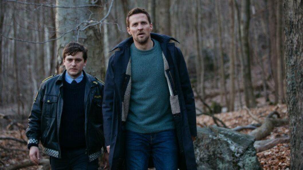POLITI PÅ BYGDA: Tobias Satelmann spiller hovedrollen som politi i Grenseland, som hadde premiere TV 2 torsdag 2. november. Fem episoder har blitt sendt og tre gjenstår. Gjennom samprodusent Netflix blir serien tilgjengelig for verdenspublikummet i 2018.