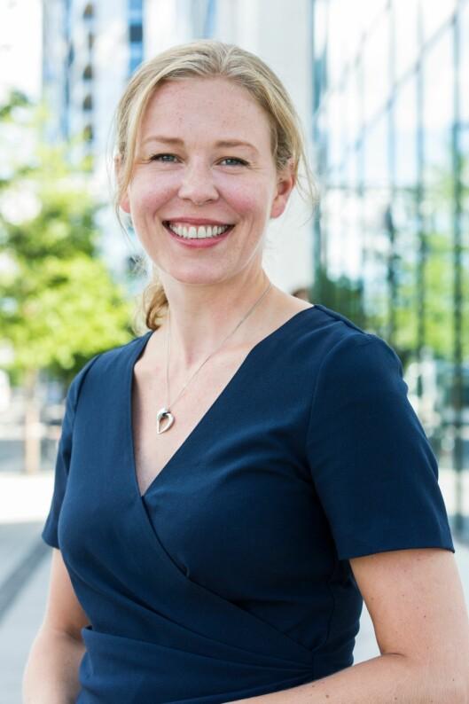 KRITISK: Linda Nilsen Methi, talsperson for aksjonsgruppa Stopp støyen.