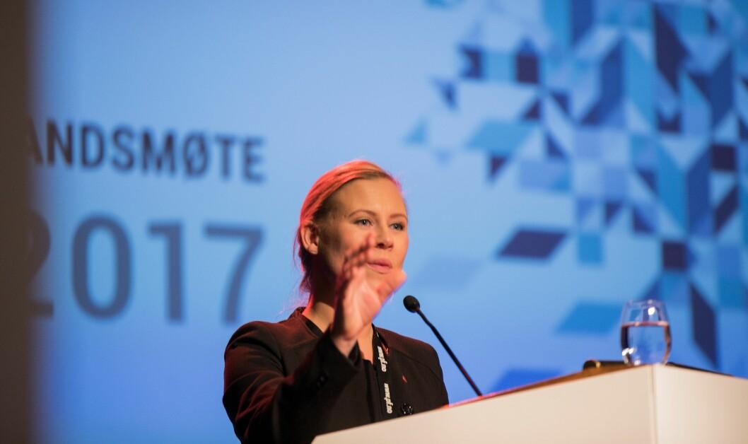 Lene Vågslid og Arbeiderpartiet mener tilliten til politireformen er satt på prøve.