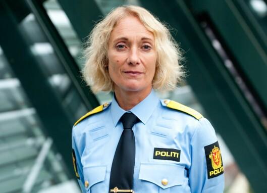 GLAD: Rektor ved Politihøgskolen, Nina Skarpenes, synes det er flott at så mange unge har lyst til å bli politi.