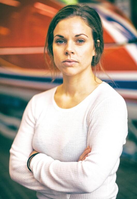FORBEREDT: Hege Svendsberget har sikret seg permisjon fra politijobben i flere måneder. Hun håper å nå raskt fram, så hun får tilbrakt den siste tiden i varme strøk, der hun og resten av laget skal ro i mål.