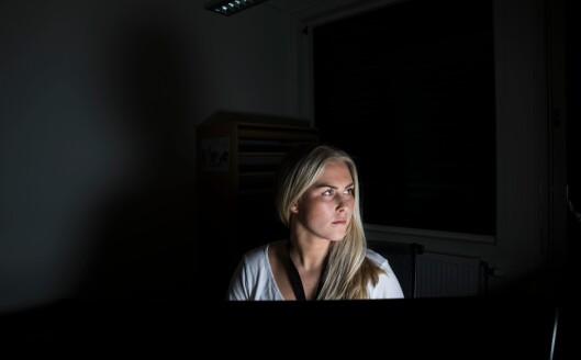 BLE KASTET I DET: Anniken Johnsen begynte som etterforsker ved Røyken og Hurum lensmannskontor i oktober 2016. Omtrent første arbeidsdag fikk hun<br />sju-åtte sedelighets- og familievoldssaker i fanget.