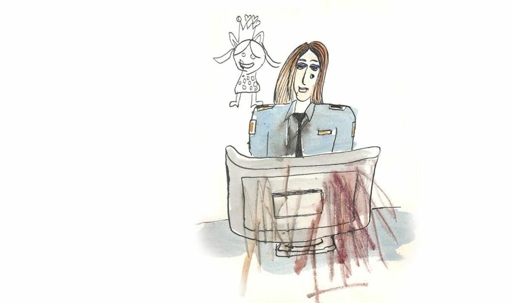 Å se mange timer på overgrep av barn, kan være belastende. Hvor mange timer bør man se? spør kronikkforfatteren.