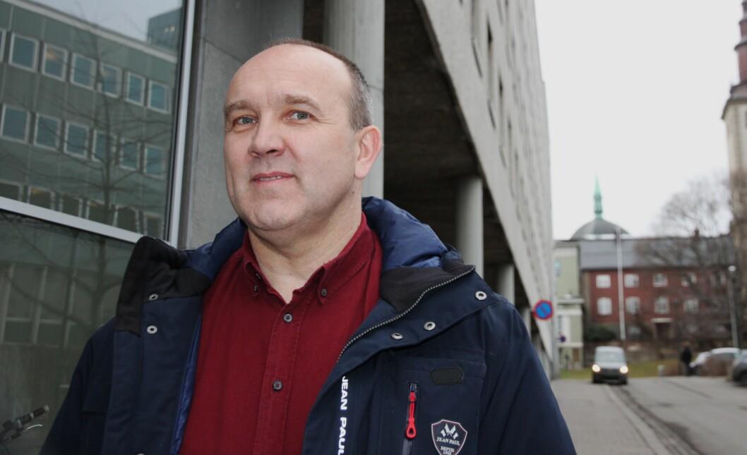 KRITISK: PF-leder i Øst politidistrikt, Hans-Kristian Ek er svært kritisk til endringer om særaldersgrensen i politiet. Dette var tema under et sentralt IDF-møte hos Politidirektoratet i forrige uke.