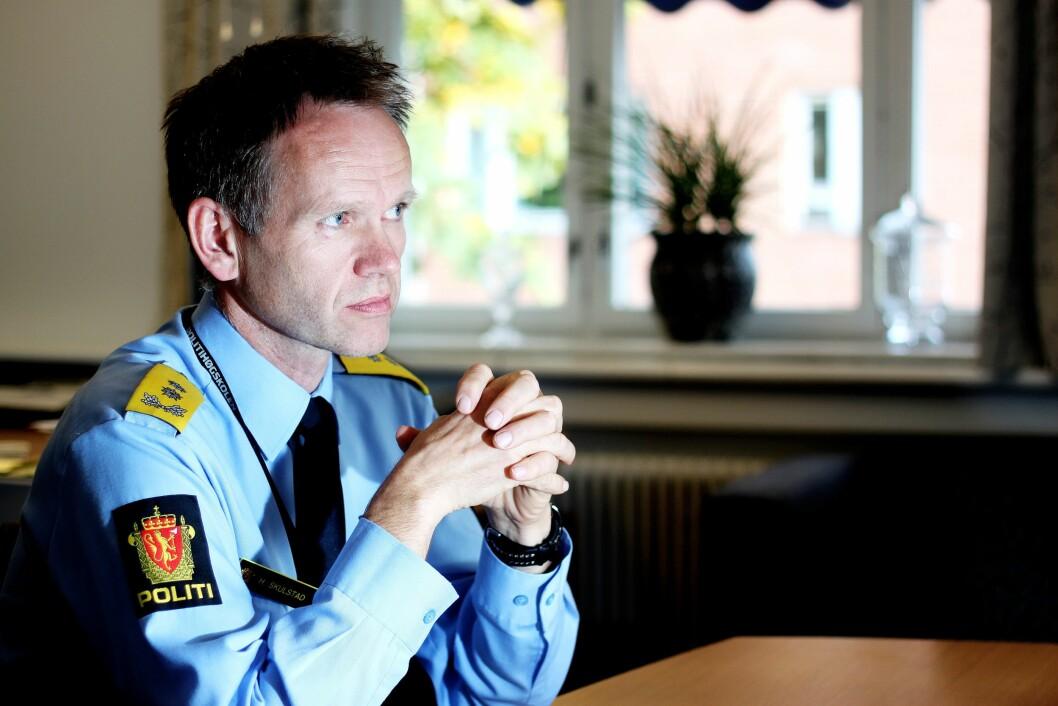 Assisterende politidirektør Håkon Skulstad mener grunnen til at ikke omstillingsmidlene er brukt opp, er sammensatt.