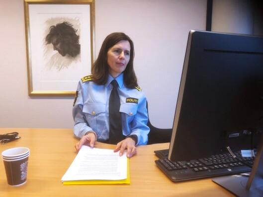 VOLDSOM ØKNING: Beate Brinch Sand, leder for Felles enhet for påtale ved Oslo politidistrikt, forteller om restansetall som økte voldsomt etter sammenslåingen.