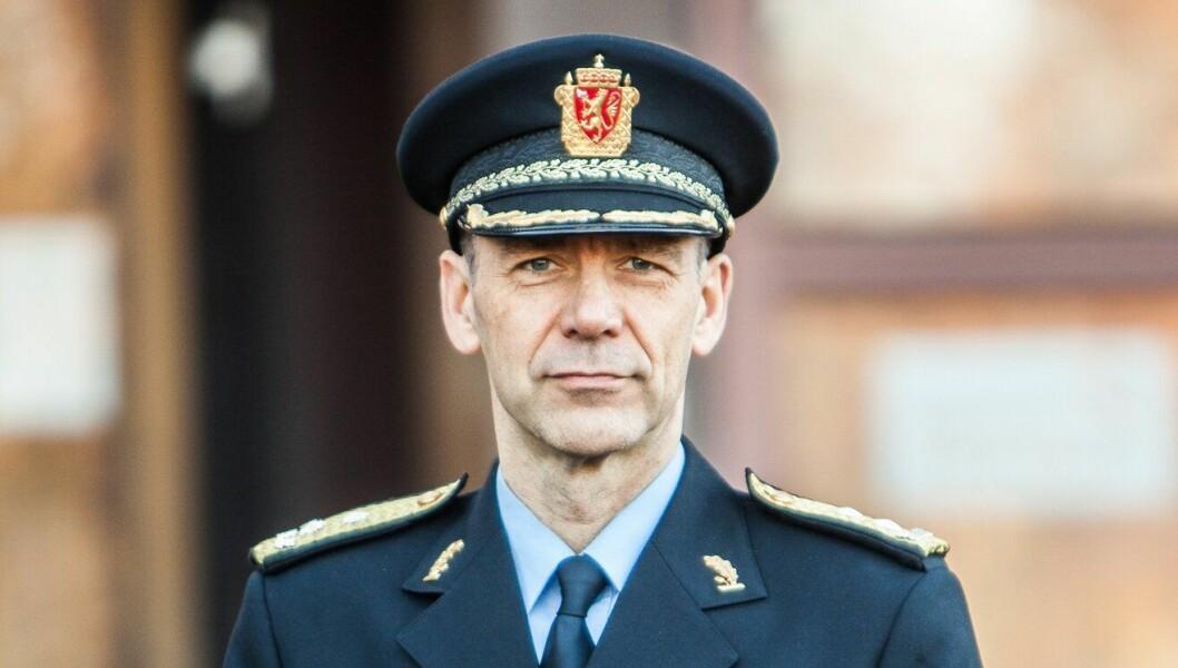 Morten Hojem Ervik, sjef for Politiets utlendingsenhet (PU)