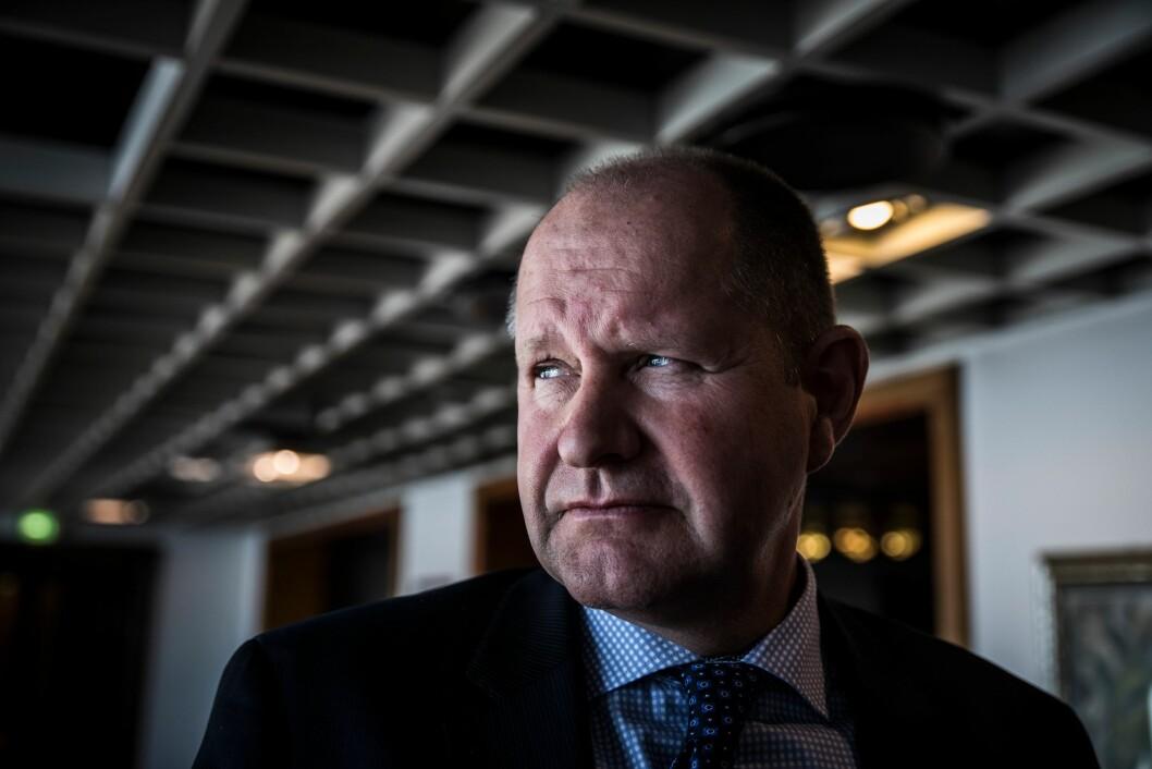 Dan Eliasson er ferdig som sjef for svensk politi.