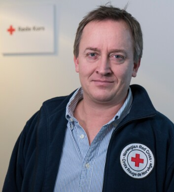 Mads Harlem, leder av Politikk og Folkerettsseksjonen i Røde Kors.