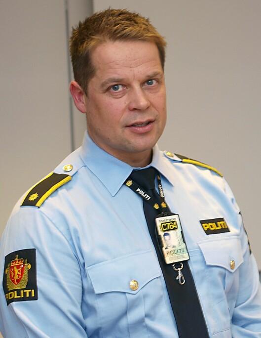 Frank Formo, politimann i Harstad.