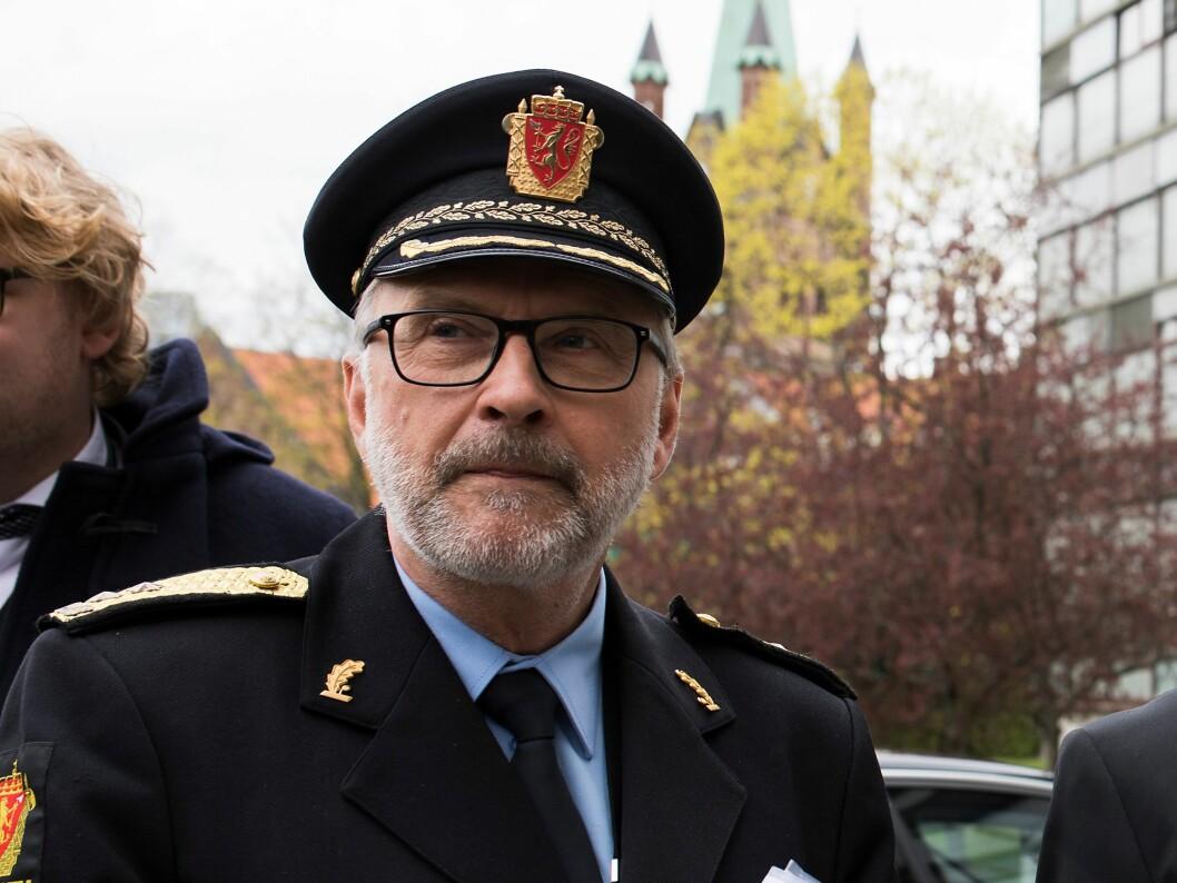 Hans Sverre Sjøvold har vært politimester i Oslo siden 2012.