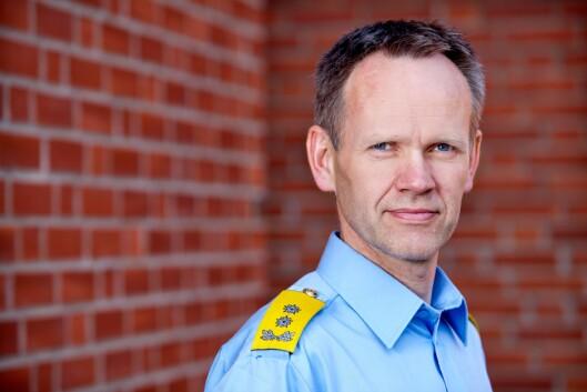Håkon Skulstad, konstituert politidirektør.