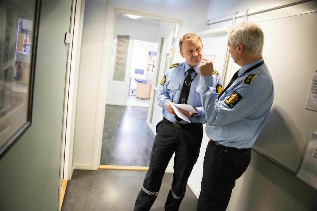 ENDRING PÅ GANG: Politioverbetjent Kai Andre Andersen (54) er sikker på at det kommer endringer for politiets særaldersgrense. Men det er tvingende nødvendig med gode overgangsordninger, mener han.