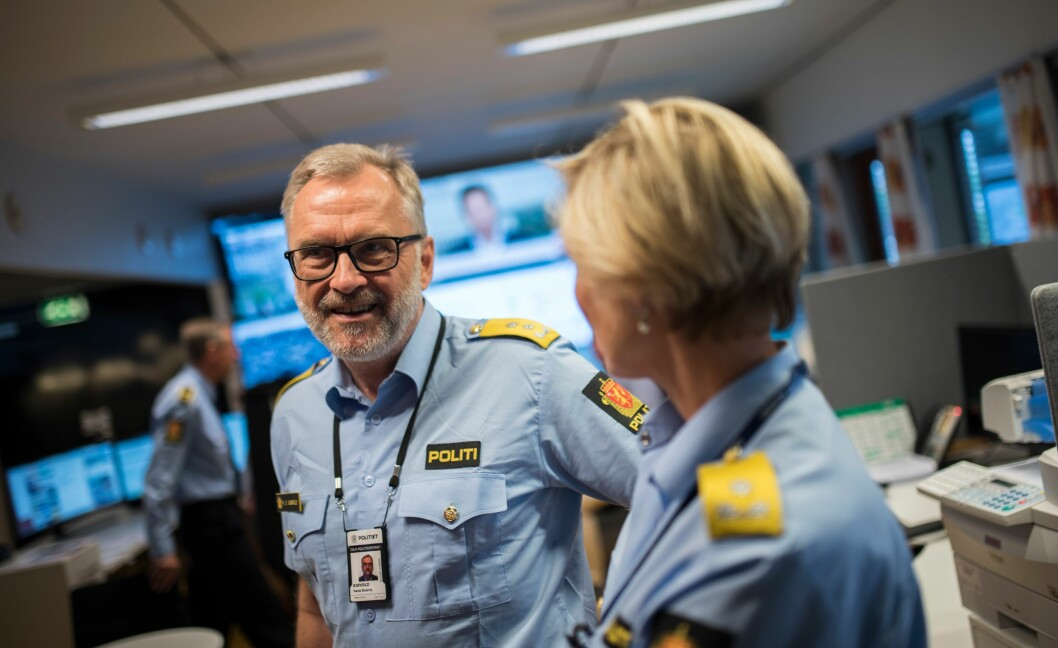 Oslo-politimester Hans Sverre Sjøvold.