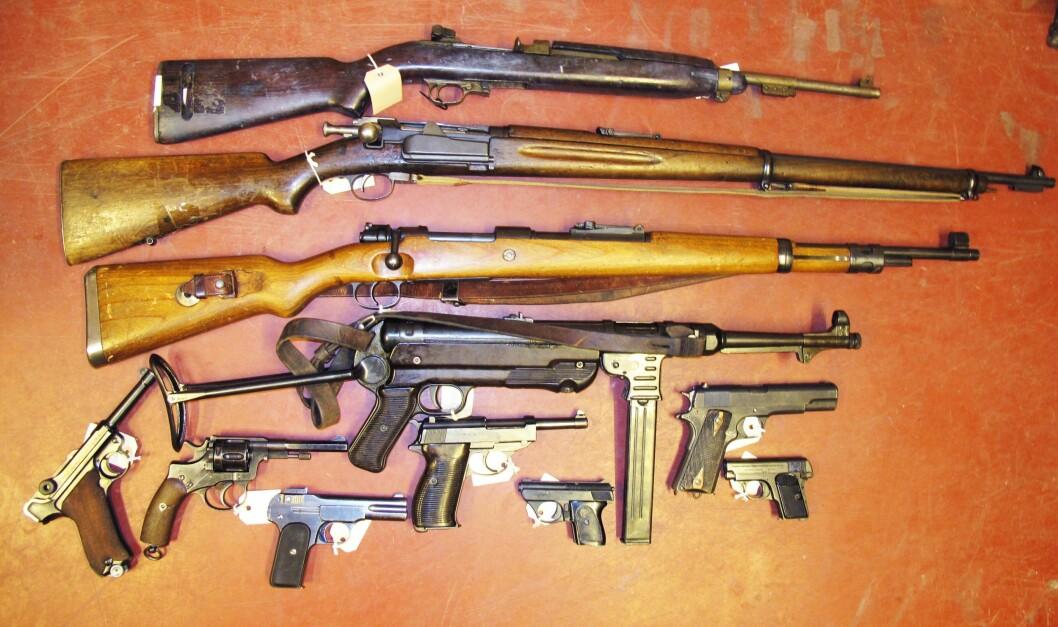 Tidligere har ingen hatt kontroll med gamle våpen etter at eiere dør. I 2015 var 70.000 våpen på avveie. Denne problematikken kan ny våpenlov begrense for framtiden.