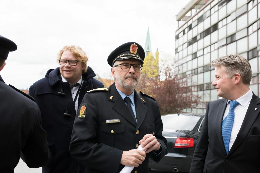 Politimester Hans Sverre Sjøvold søker jobb igjen - og får etter alt å dømme stillingen.