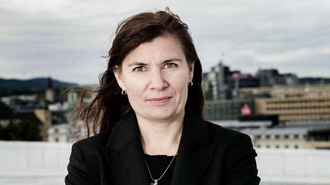 Ellen Katrine Hætta, politimester i Finnmark, forteller om stillingsmangel.