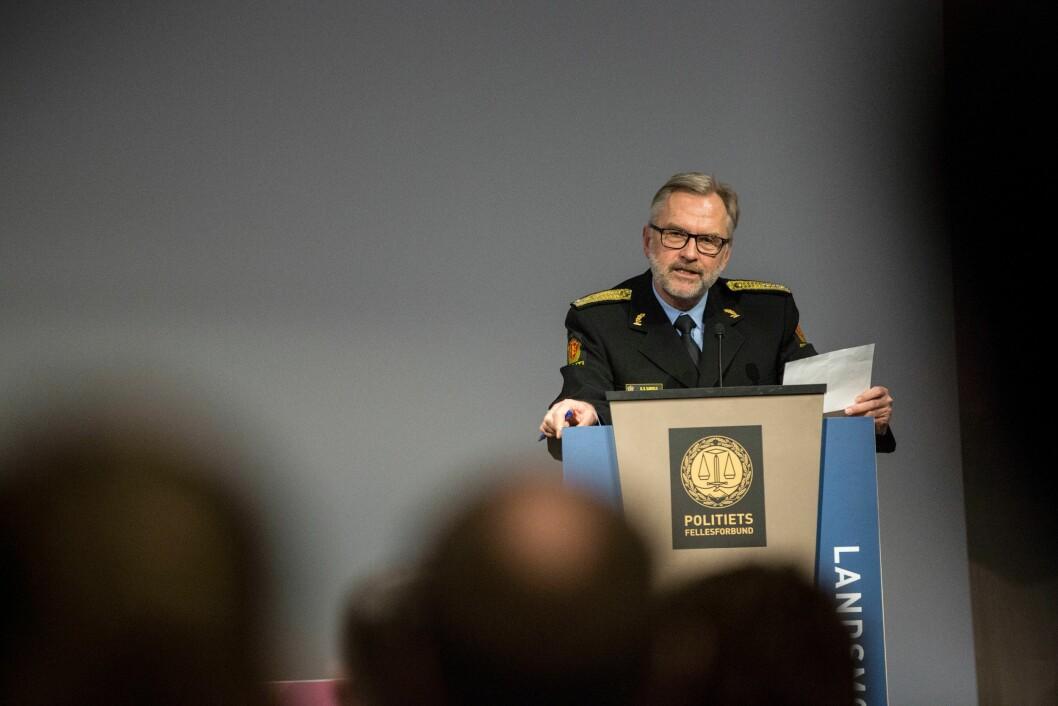 Hans Sverre Sjøvold blir trolig politimester på nytt.