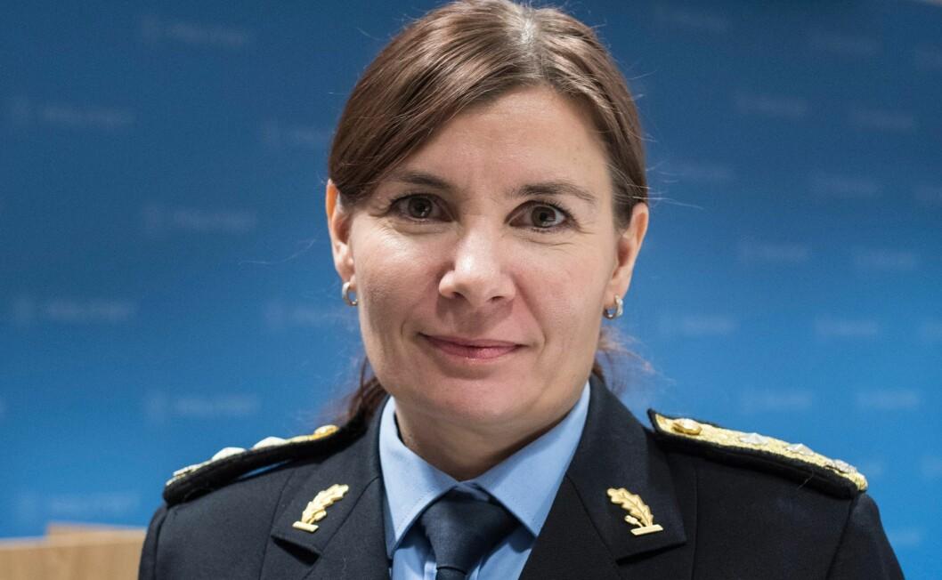 Ellen Katrine Hætta, politimester i Finnmark