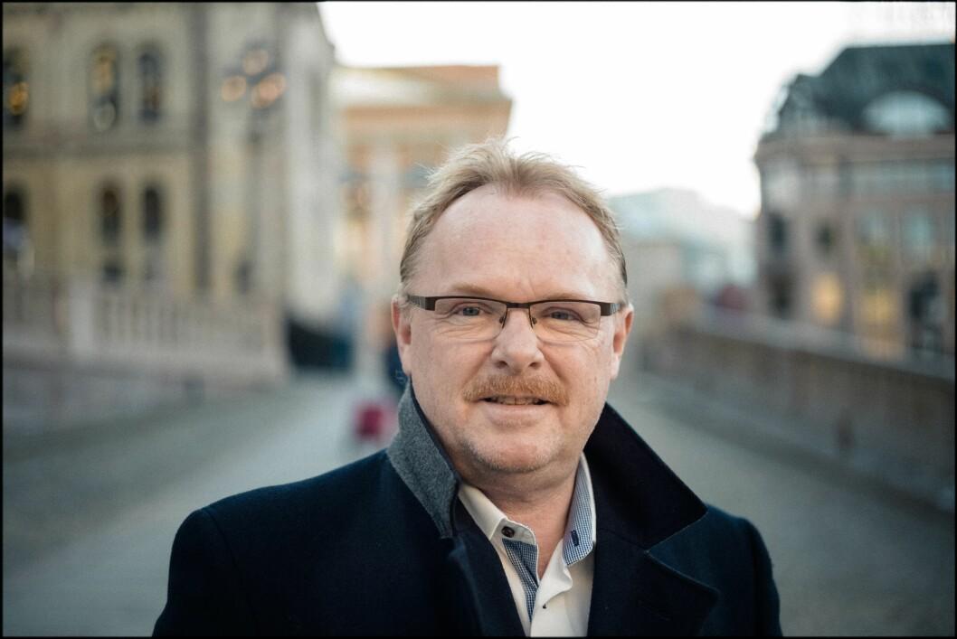 Per Sandberg er fungerende justisminister. Han kan bli justisminister permanent - om han vil.