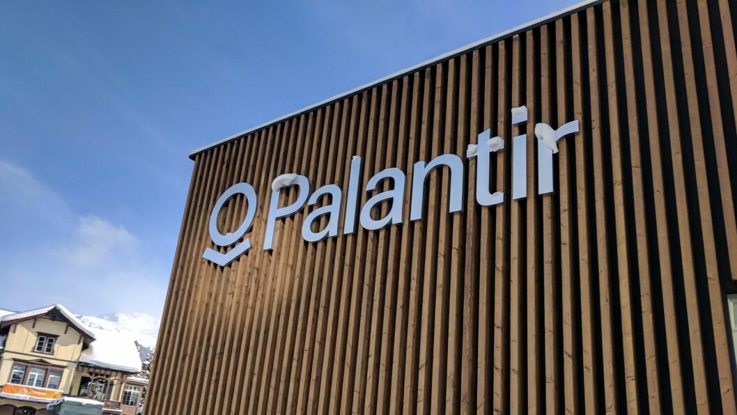 Palantir er et internasjonalt big data-selskap som har avtaler med politi og tollvesenet.