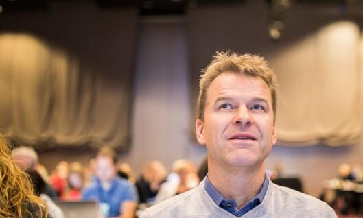 Sigve Bolstad, leder i Politiets Fellesforbund
