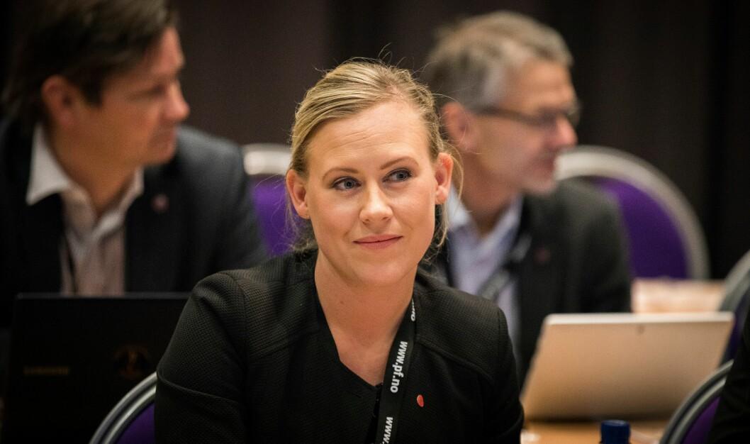 Lene Vågslid fra Arbeiderpartiet