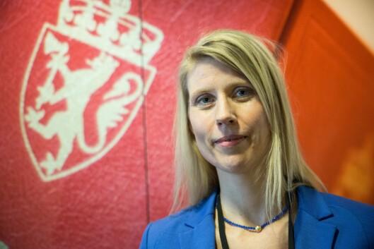 Kristine Langkaas i POD.