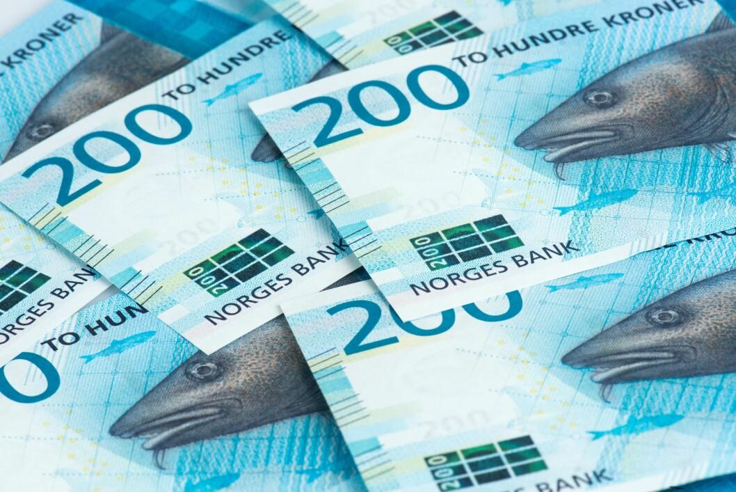 Nye pengesedler er glattere og mer plastaktige enn gamle pengesedler.