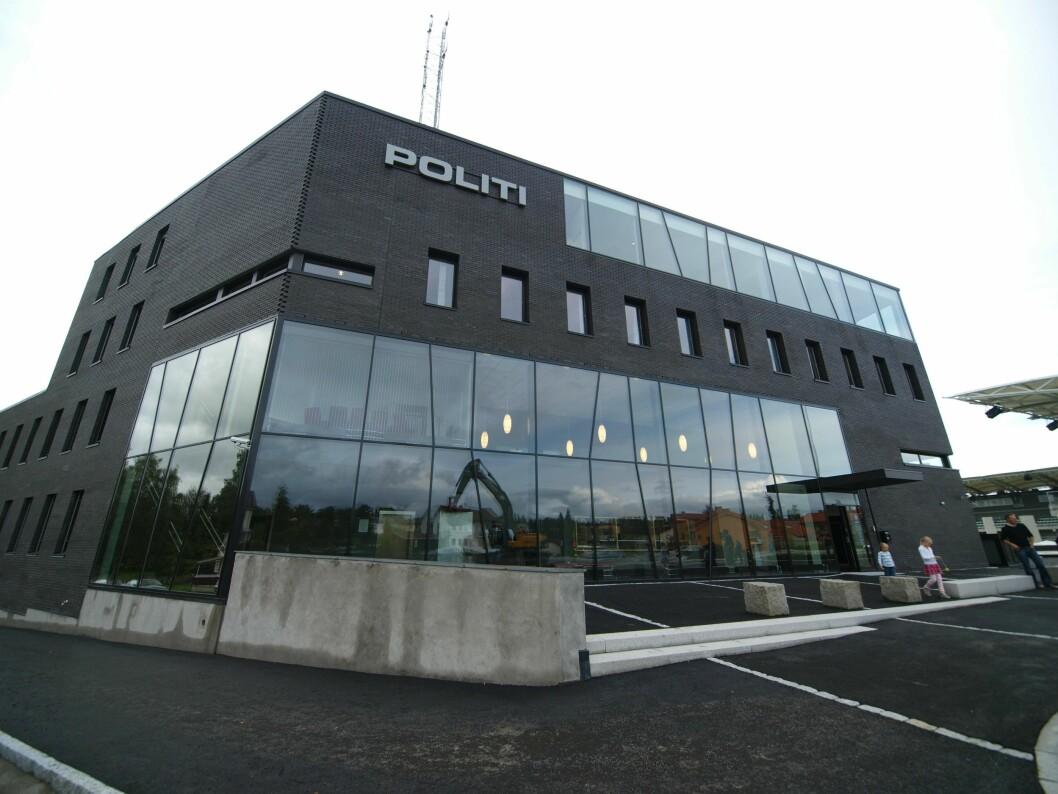 Politihuset på Hamar er hovedsetet i Innlandet politidistrikt, et distrikt på størrelsen med Kroatia.