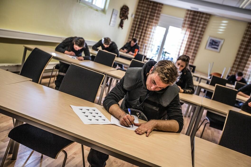 En student må gjennom både møkkete og praktiske disipliner, og teoretiske fag.