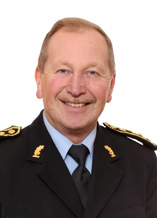 Avdelingsleder Geir Valaker ved PHS