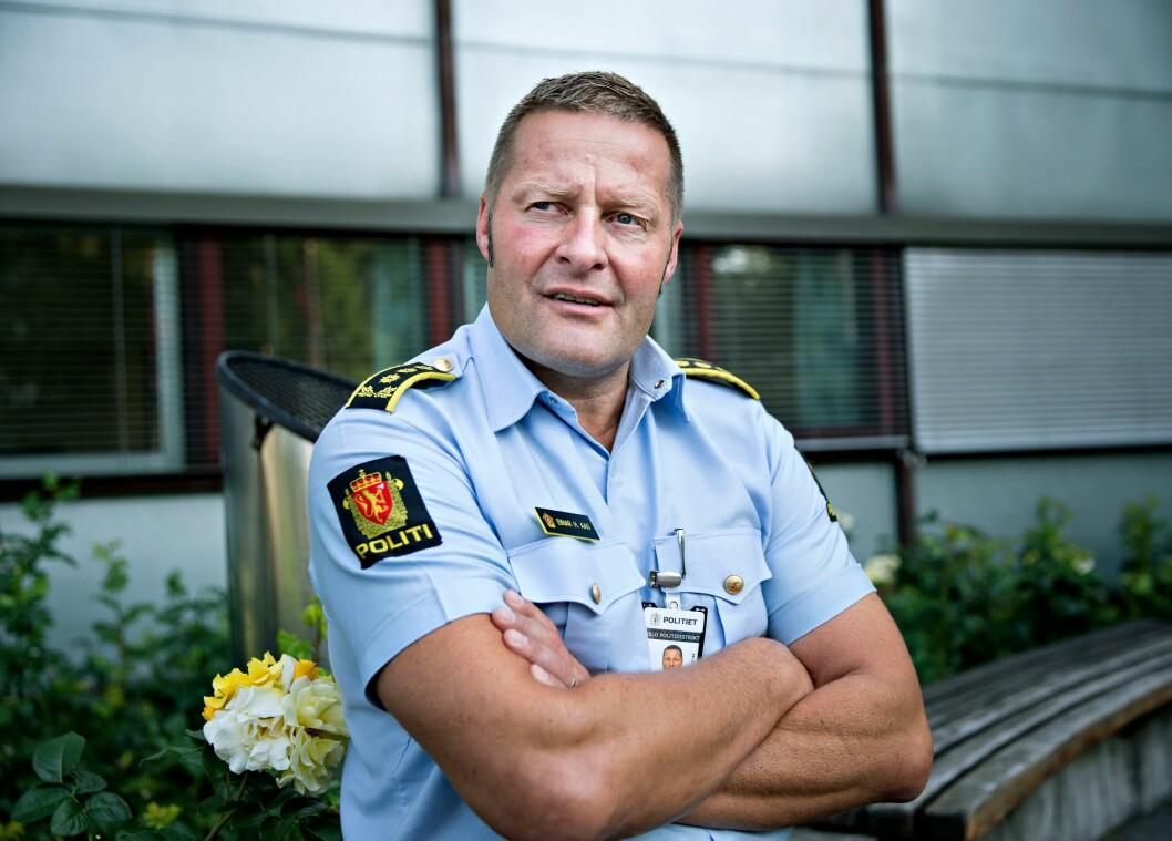 Einar Aas ledet seksjon for organisert kriminalitet i Oslo politidistrikt. Seksjonen er nedlagt, noe Aas mener får uheldige konsekvenser.