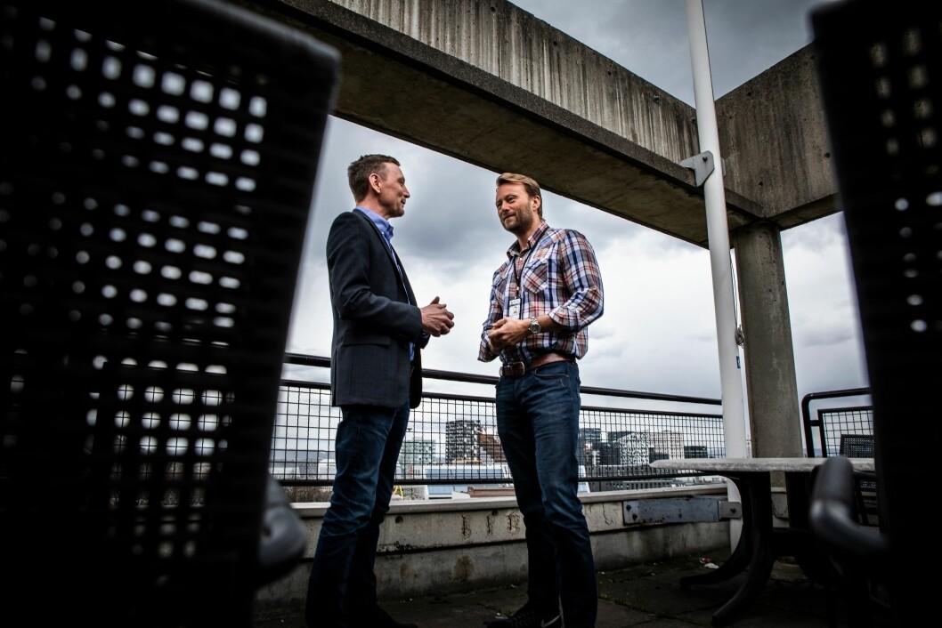 Lutro og Rasch-Olsen mener ny organisering av Oslo politidistrikt er til det bedre for det forebyggende arbeidet.