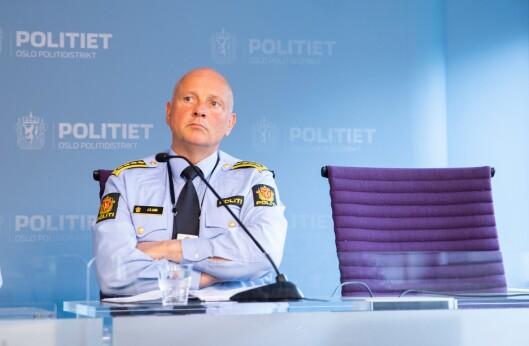 John Roger Lund, sjef for enhet Øst i Oslo-politiet.