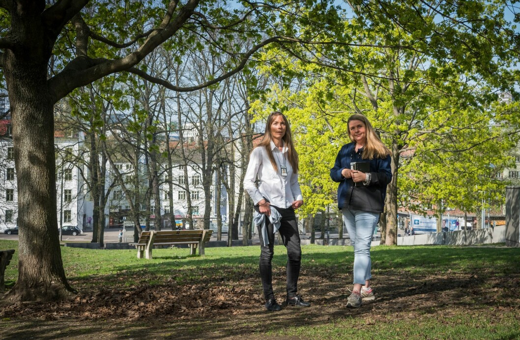 – Framtida er vanskelig å spå, mener Christina Hofseth og Marianne Sætre.