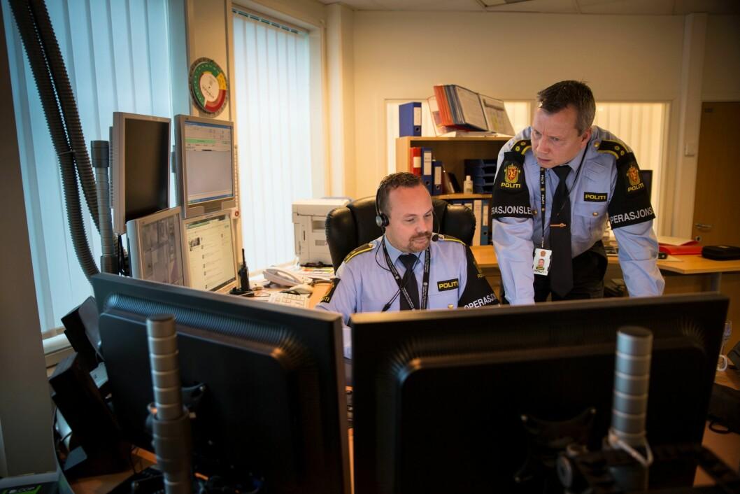Er operasjonsledere og politiet flinke nok til å informere mediene? Nei, mener flere redaktører Medier24 har snakket med. (Illustrasjonsfoto)