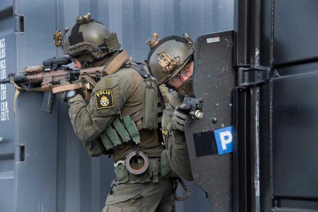 Nationella Insatsstyrkan i Sverige rekrutterer fra utenfor politiet.