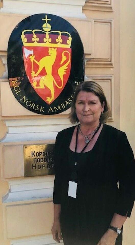 May Hilde Sønstebø har vært politi siden 1982. Etter at hun valgte å tjenestgjøre i utlandet, økte pensjonsalderen.