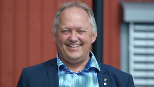 John-Erik Vika, politi og ordfører.