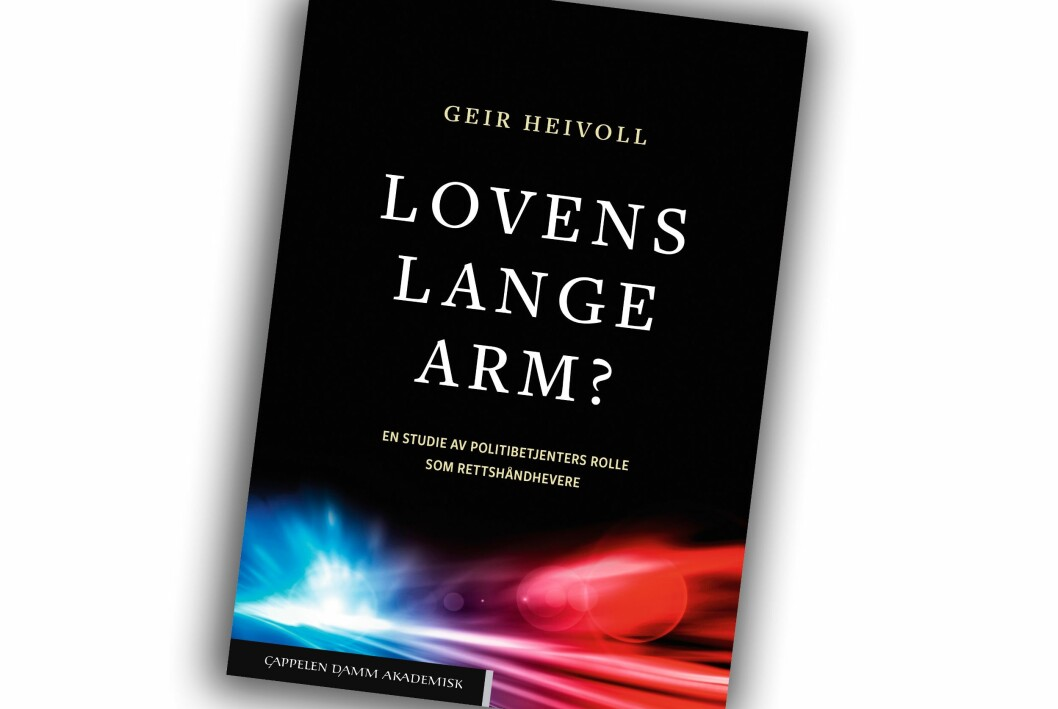 Slik ser boka til Geir Heivoll ut.