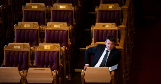 Tor Mikkel Wara varslet nytt forslag, dager etter at Stortinget vedtok punktbevæpning.